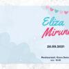Invitatie botez model Eliza Miruna 04
